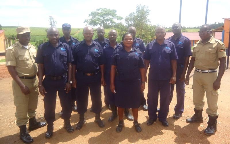 Members of the school security